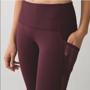 lululemon athletica Pants - Lululemon Seek the Heat legging